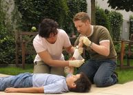 First Aid Cours in English